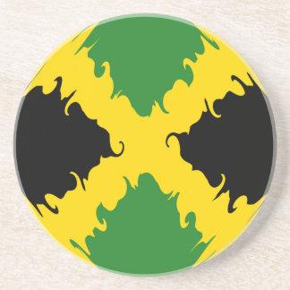 Bandera Gnarly de Jamaica Apoyavasos