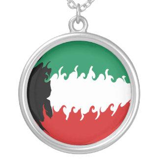 Bandera Gnarly de Kuwait Colgante Personalizado