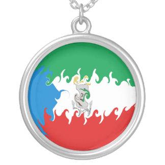Bandera Gnarly de la Guinea Ecuatorial Joyeria