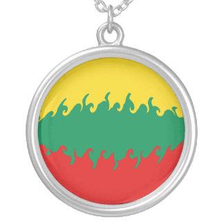 Bandera Gnarly de Lituania Colgantes Personalizados