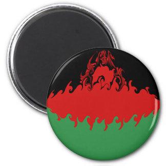 Bandera Gnarly de Malawi Imán