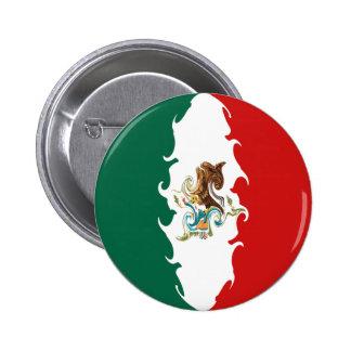 Bandera Gnarly de México Pin