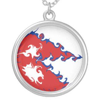 Bandera Gnarly de Nepal Pendientes