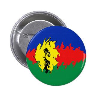 Bandera Gnarly de Nueva Caledonia Pin