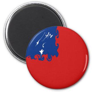 Bandera Gnarly de Samoa Imán De Frigorifico