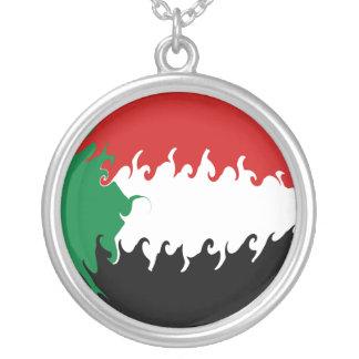 Bandera Gnarly de Sudán Colgantes