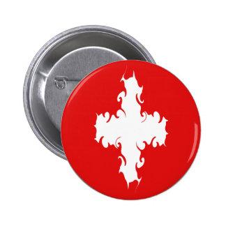 Bandera Gnarly de Suiza Pin