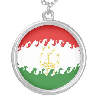 Bandera Gnarly de Tayikistán Colgantes