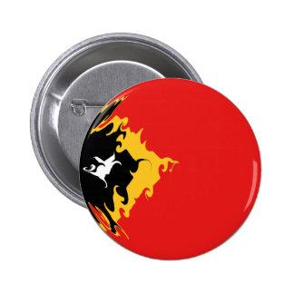 Bandera Gnarly de Timor Oriental Pin