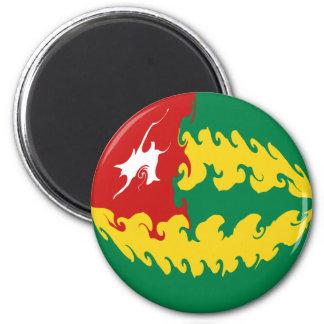 Bandera Gnarly de Togo Imanes