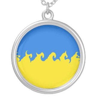 Bandera Gnarly de Ucrania Colgante Personalizado