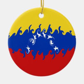 Bandera Gnarly de Venezuela Ornato