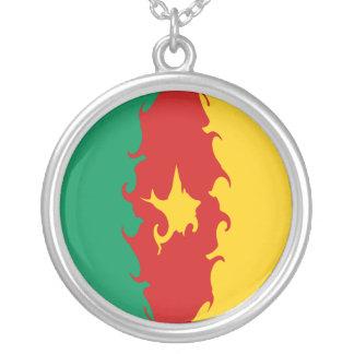 Bandera Gnarly del Camerún Pendiente Personalizado