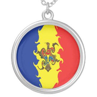 Bandera Gnarly del Moldavia Grimpola Personalizada