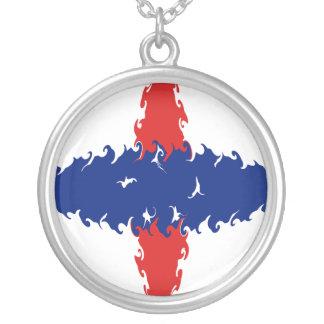 Bandera Gnarly holandesa de Antillas Collares