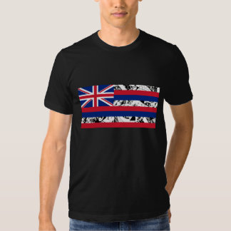 Bandera hawaiana del estado - estilo polinesio camisetas