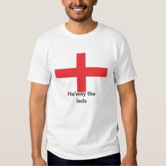 Bandera Ha'way de Inglaterra la camiseta de los