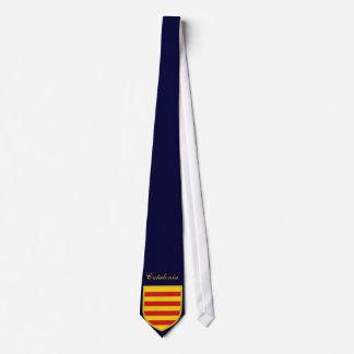 Bandera hermosa de Cataluña Corbata Personalizada