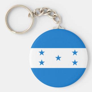 Bandera HN de Honduras Llavero Personalizado
