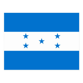 Bandera HN de Honduras Postal