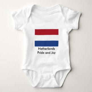 Bandera holandesa el MUSEO Zazzle Body De Bebé