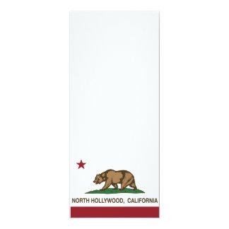 bandera hollywood del norte de California Invitación 10,1 X 23,5 Cm