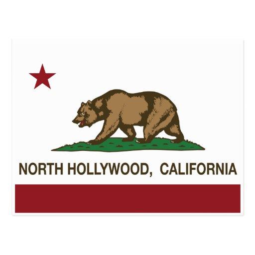 bandera hollywood del norte de California Postal