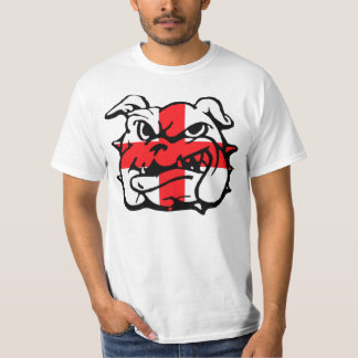 Bandera impresionante de Inglaterra barato Camiseta