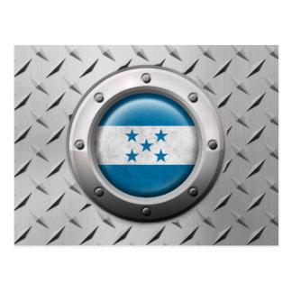 Bandera industrial de Honduras con el gráfico de a Postales
