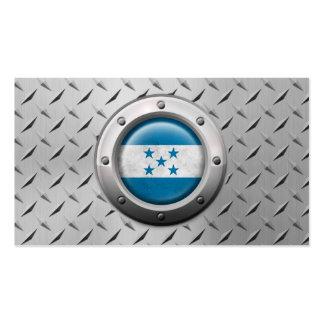 Bandera industrial de Honduras con el gráfico de a Tarjeta De Visita