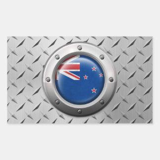 Bandera industrial de Nueva Zelanda con el gráfico