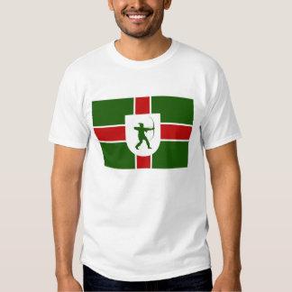 bandera Inglaterra Robin Hood de la región de Camiseta