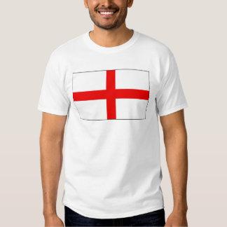 Bandera inglesa camisetas