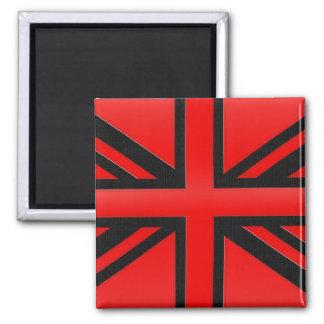 Bandera inglesa roja imán