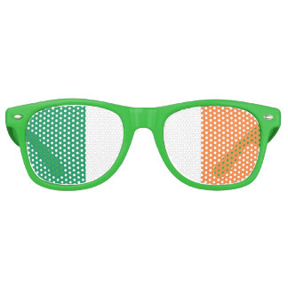Bandera irlandesa gafas de fiesta