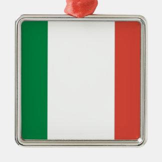 bandera italiana adorno de cerámica