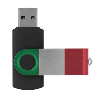 Bandera italiana memoria USB