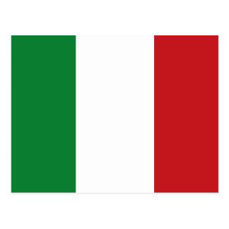 Bandera italiana postal