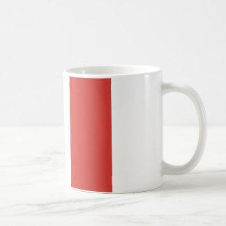 Bandera italiana taza clásica