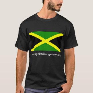 Bandera Jamaica, www.ignitechangenow.org Camiseta