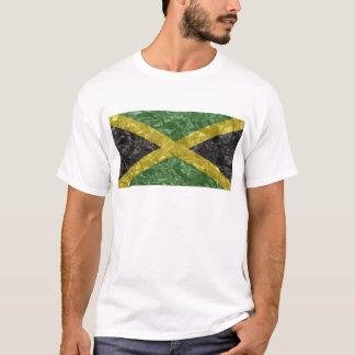 Bandera jamaicana - arrugada camiseta