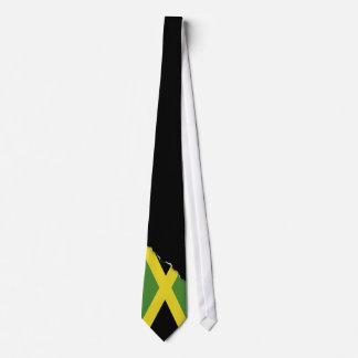 Bandera jamaicana clásica corbatas personalizadas