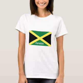 Bandera jamaicana de Jamaica Camiseta