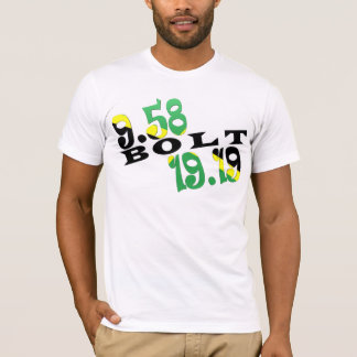 Bandera jamaicana de Usain Bolt Berlín 2 WR Camiseta