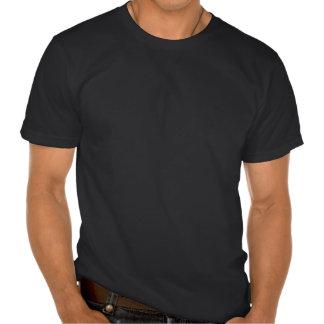 Bandera jamaicana rasguñada y llevada del vintage camiseta