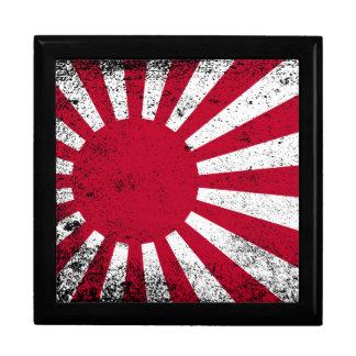 Bandera japonesa caja de regalo