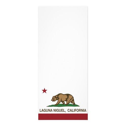Bandera Laguna Niguel del estado de California Anuncio