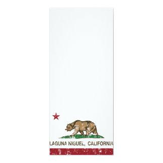 Bandera Laguna Niguel del estado de California Invitación 10,1 X 23,5 Cm