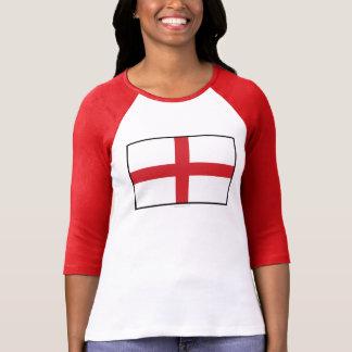 Bandera llana de Inglaterra Camiseta
