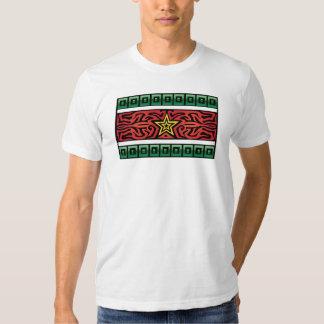 Bandera loca #211 camisetas